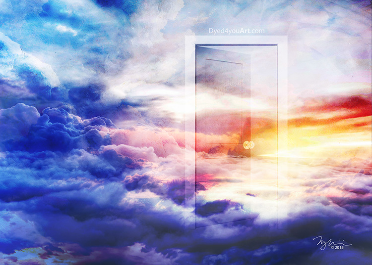 Introducing the next image in the Revelation series Heaven\u0027s Door (This image is also part of an Open Heaven duet the second image of which will be ... & Introducing: Heaven\u0027s Door \u2013 Dyed4you Art