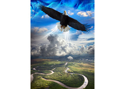soaring with Him
